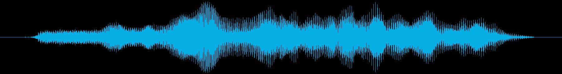 グラビティチューブ(下降)ウミューゥの再生済みの波形