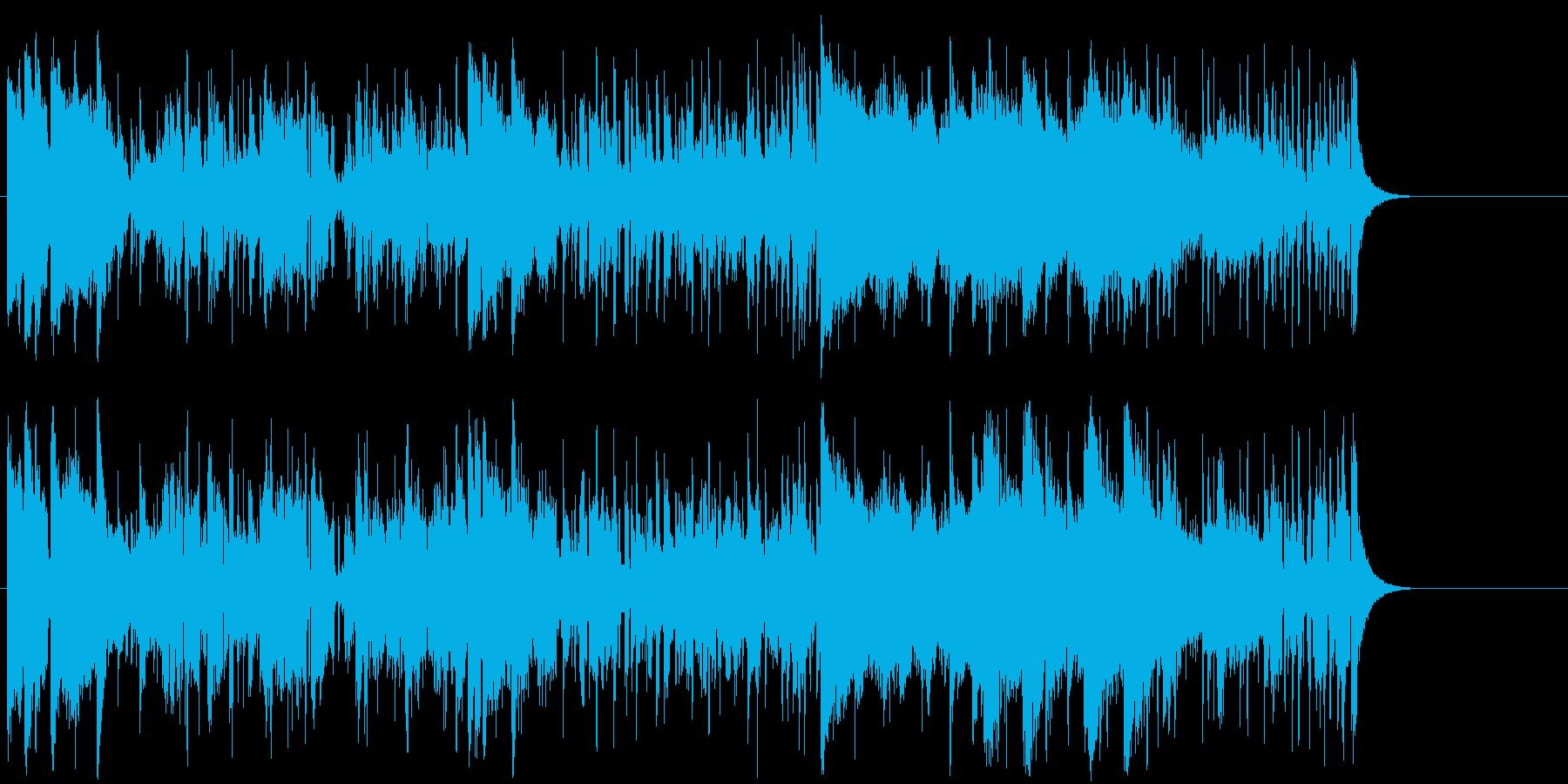 報道 テーマ オープニング 躍動の再生済みの波形