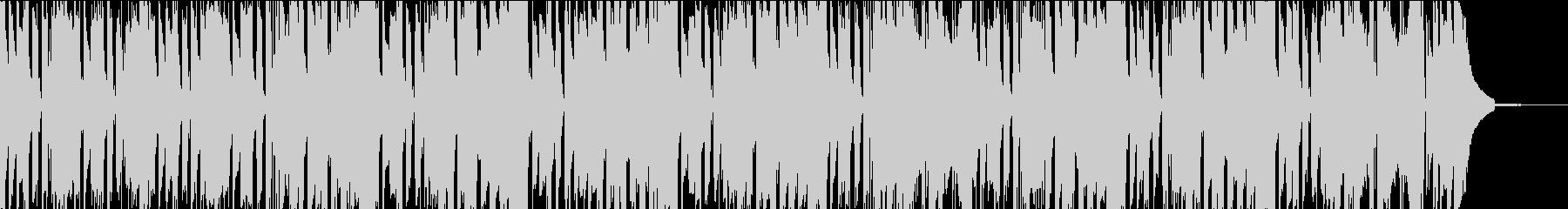 ファンキーでオシャレなサックスのBGMの未再生の波形