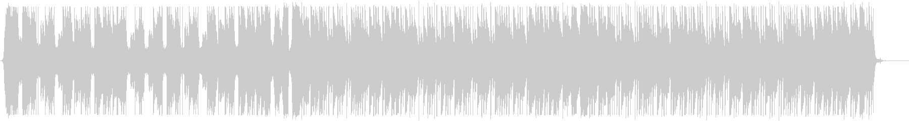 爽やかなトロピカルハウス_No586_4の未再生の波形