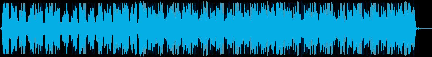爽やかなトロピカルハウス_No586_4の再生済みの波形