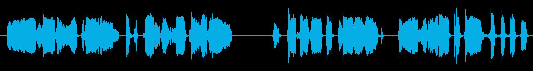 リトルレッドモンスター:メアリーハ...の再生済みの波形