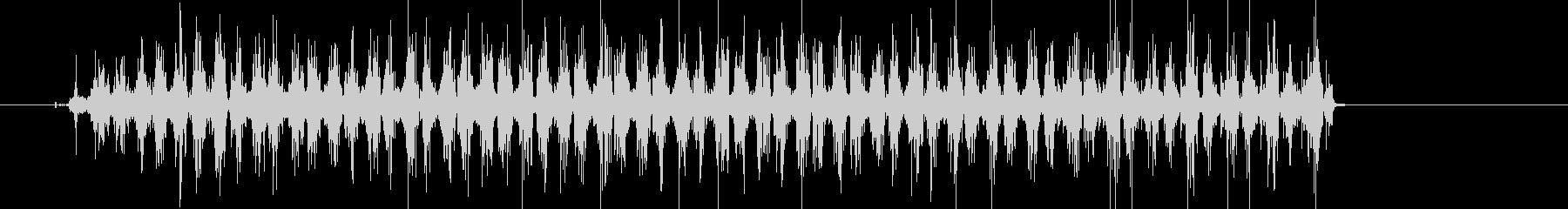 ギーコギーコ何かを擦っている音の未再生の波形