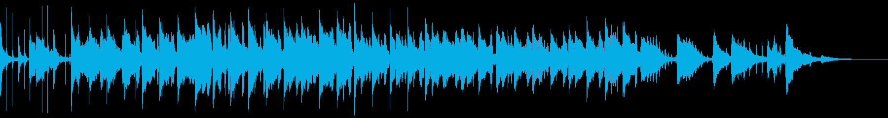 アコーディオンの音とワルツの雰囲気...の再生済みの波形
