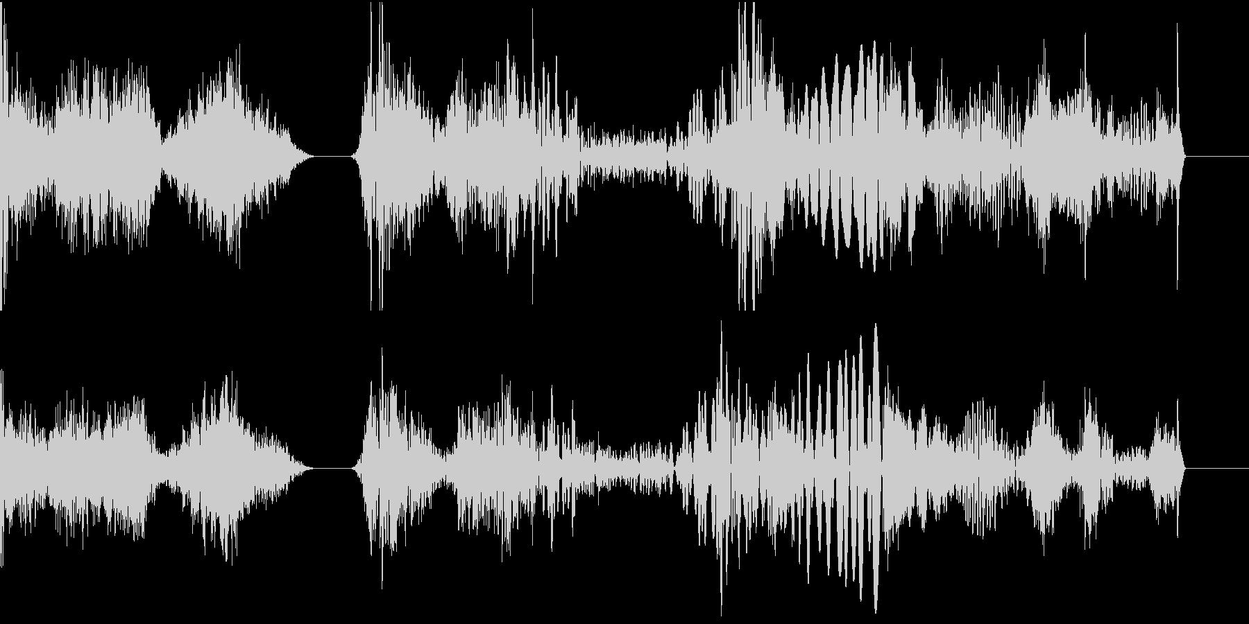 TVFX POPなザッピング音 5の未再生の波形