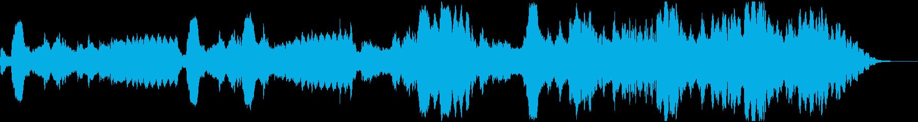 フルートによる敗戦用BGMの再生済みの波形