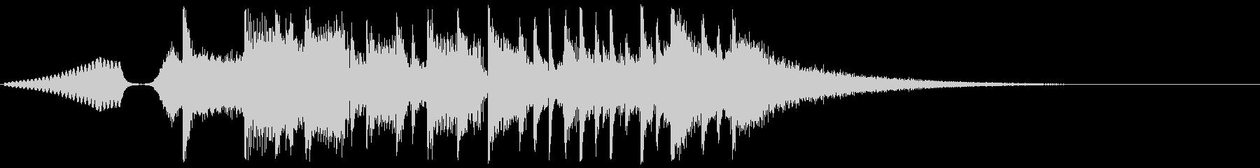 アグレッシブでハードなEDM系ジングル2の未再生の波形
