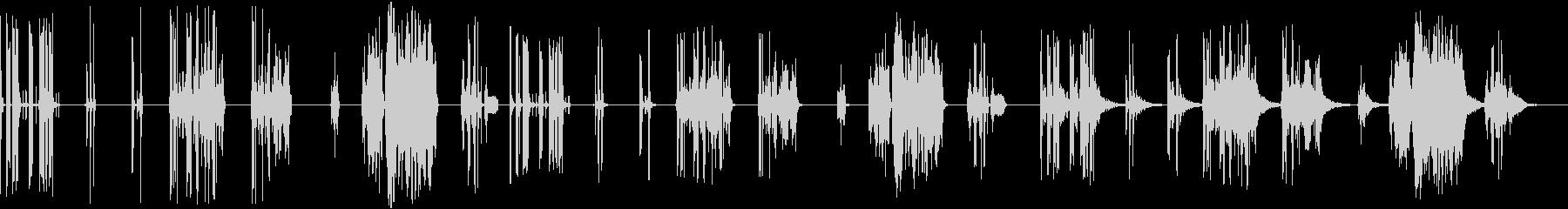 サンプル&ホールド、7バージョンX...の未再生の波形