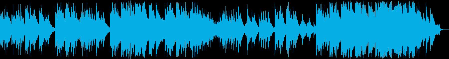 哀愁漂う切ないエレピの旋律が印象に残る曲の再生済みの波形