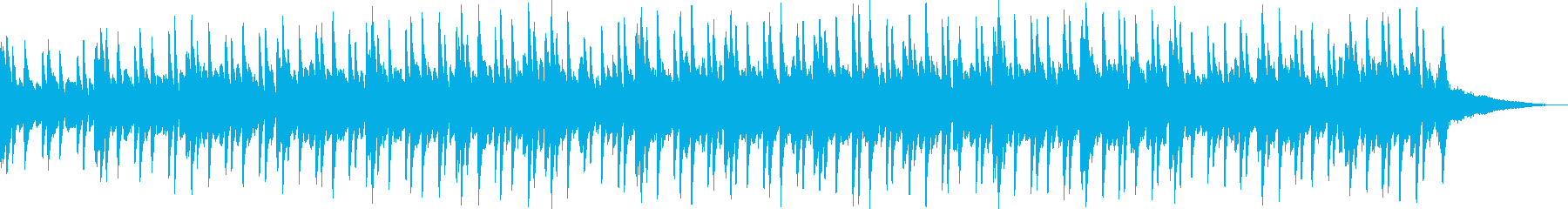 スタインウェイで弾いたピアノソロの再生済みの波形