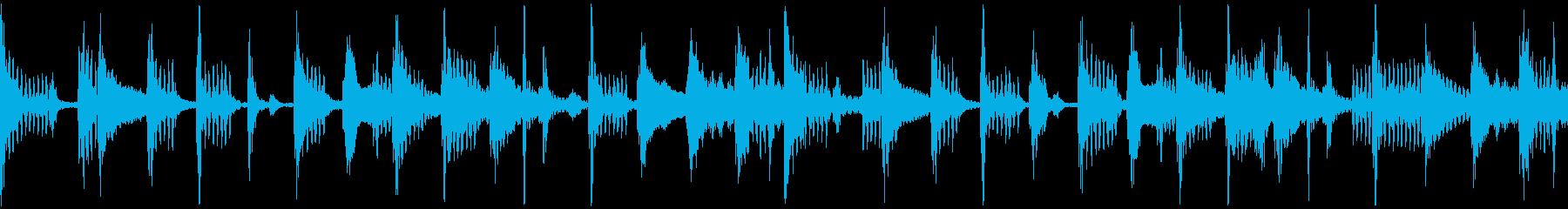 ノリのいいループの再生済みの波形