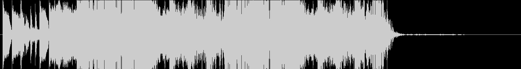 DUBSTEP クール ジングル105の未再生の波形
