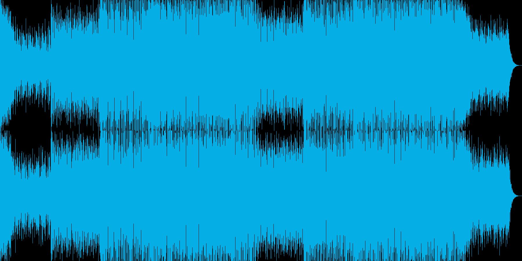 EDMポップで明るいクラブ系-104の再生済みの波形