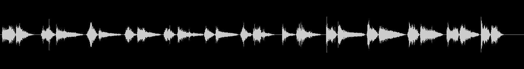 モンスター いびき01の未再生の波形