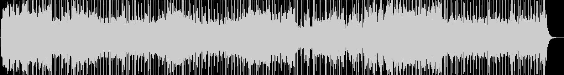 スロー。ピアノバーの未再生の波形