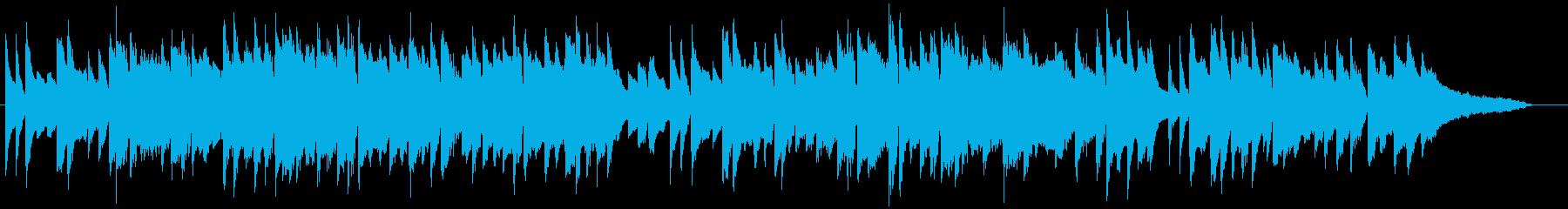 感動的なシーンに合いそうなピアノの再生済みの波形