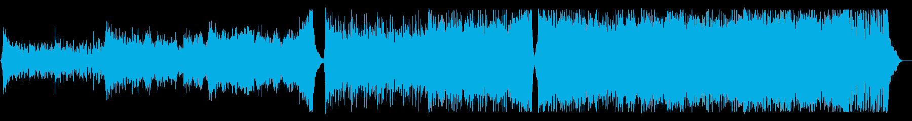 Epic/力強いエンディング曲の再生済みの波形