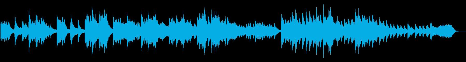 平凡かと思えば後半不可思議な室内楽曲の再生済みの波形