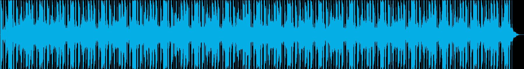 シーケンス 電子ビートダーク01の再生済みの波形