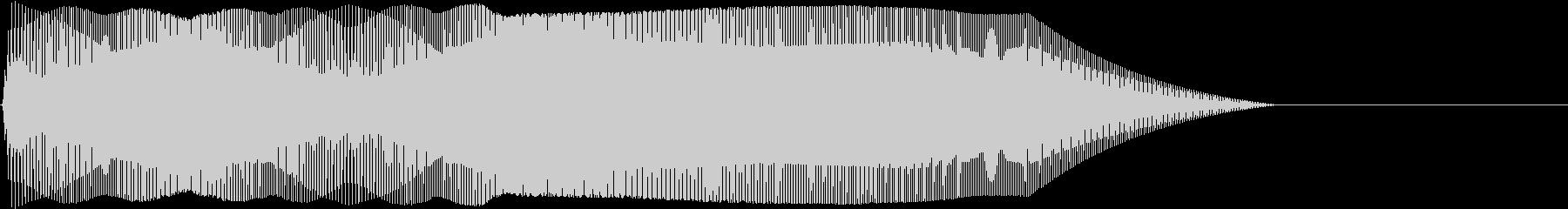 Game 横スクロール系ゲーム 効果音5の未再生の波形