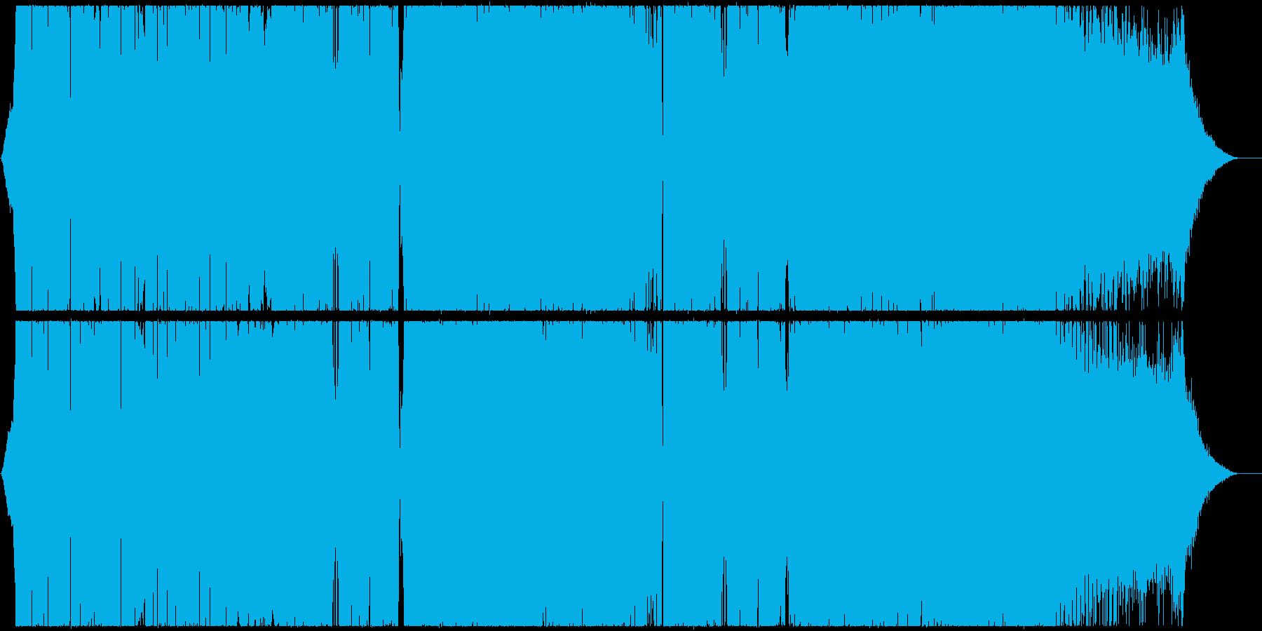 パワフルなシンセベースが爽快なEDMの再生済みの波形