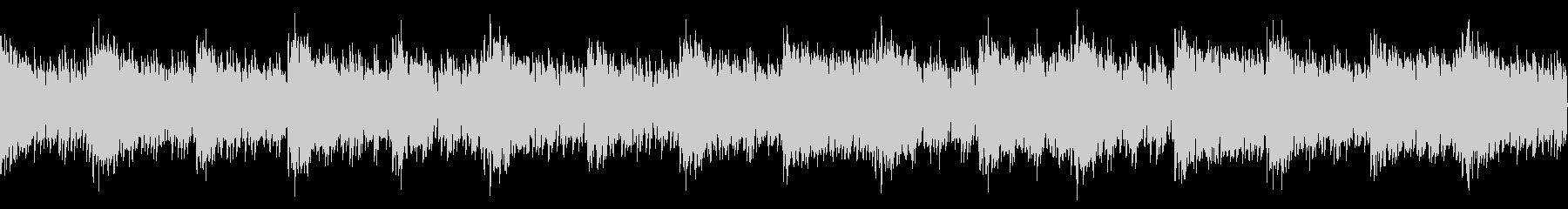 戦闘ゲームなどのタイトル画面に合う曲の未再生の波形