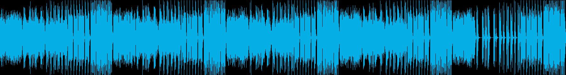 【オルゴール】温かく優しい雰囲気の曲の再生済みの波形