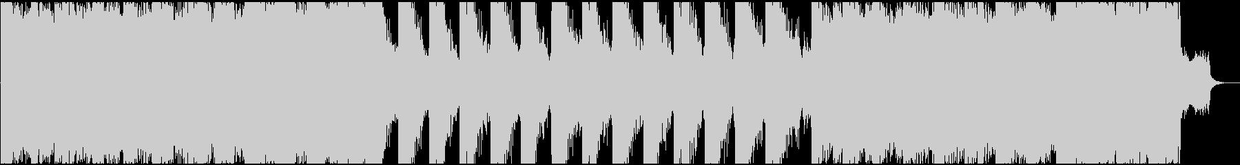 重厚でシネマティックなエピックトレーラーの未再生の波形