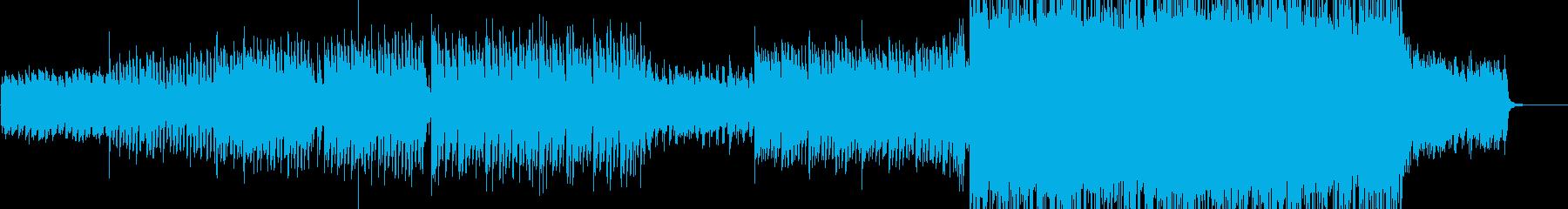 サビでひらける爽やかなピアノロックの再生済みの波形