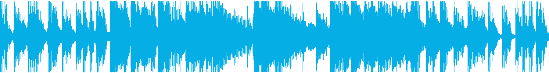 手順説明などルンルンでキャッチーなループの再生済みの波形