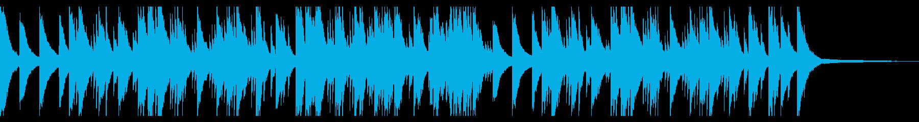 言い出せないもどかしさをピアノソロでの再生済みの波形
