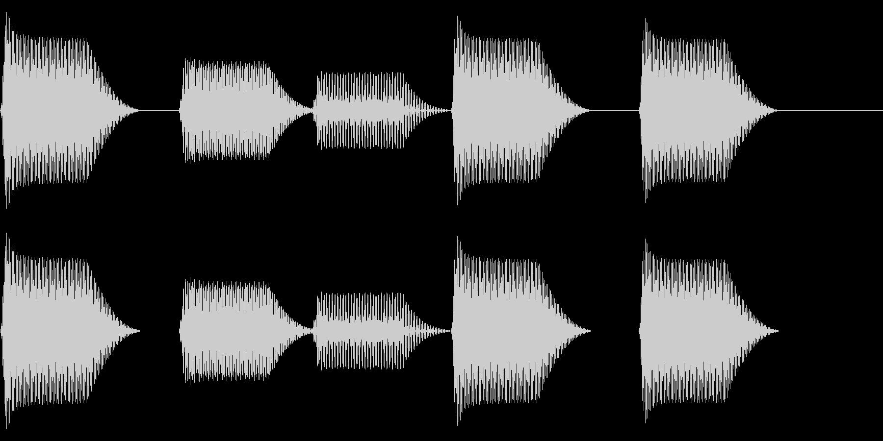 往年のRPG風 コマンド音 シリーズ11の未再生の波形