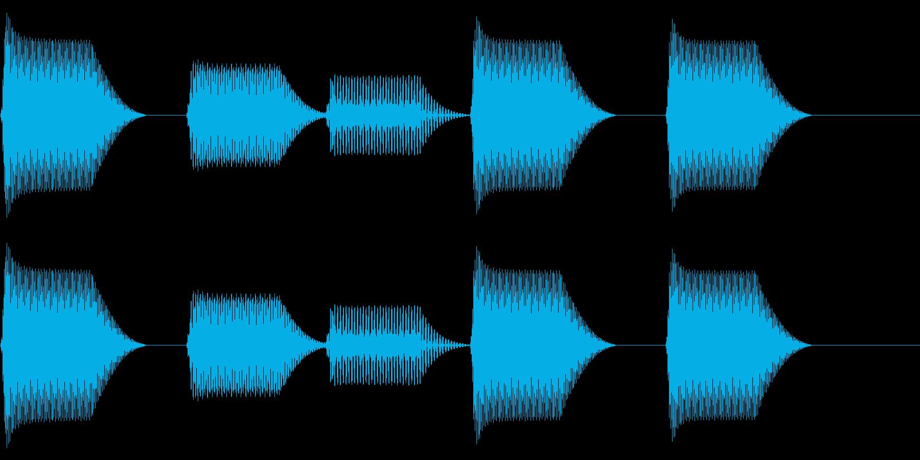 往年のRPG風 コマンド音 シリーズ11の再生済みの波形
