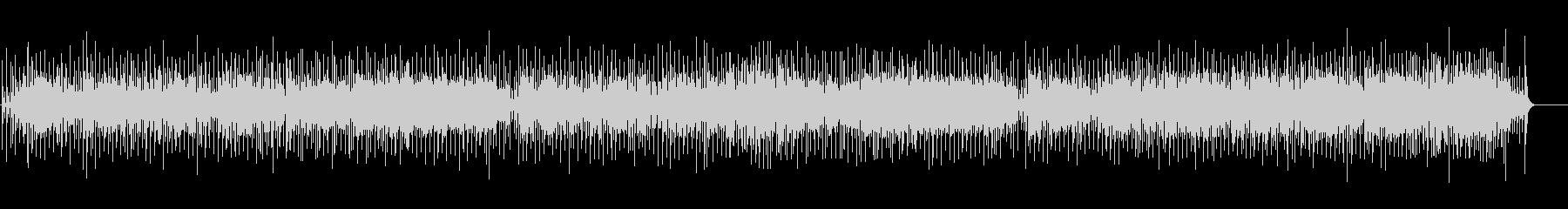 三味線が奏でる和風ポップスの未再生の波形