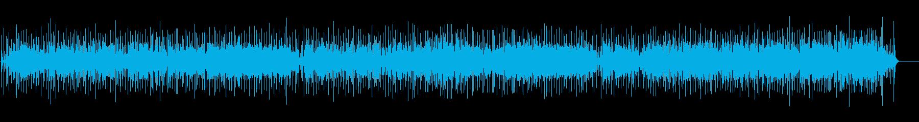 三味線が奏でる和風ポップスの再生済みの波形
