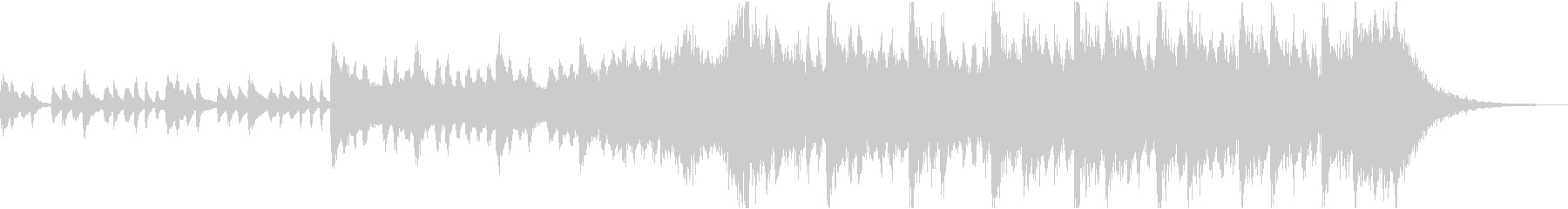 感動壮大ポジティブオーケストラエピックcの未再生の波形