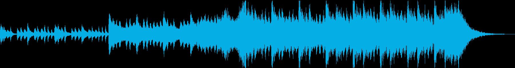 感動壮大ポジティブオーケストラエピックcの再生済みの波形