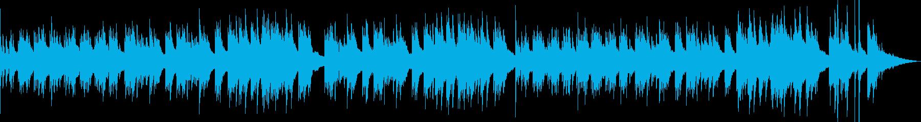 失恋を表現したピアノソロの再生済みの波形