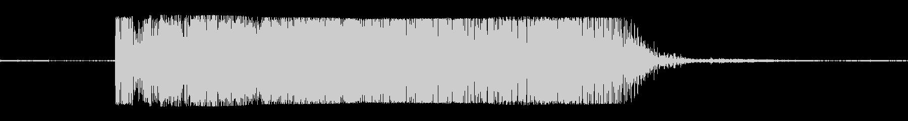 ギターメタルパワーコードeの未再生の波形