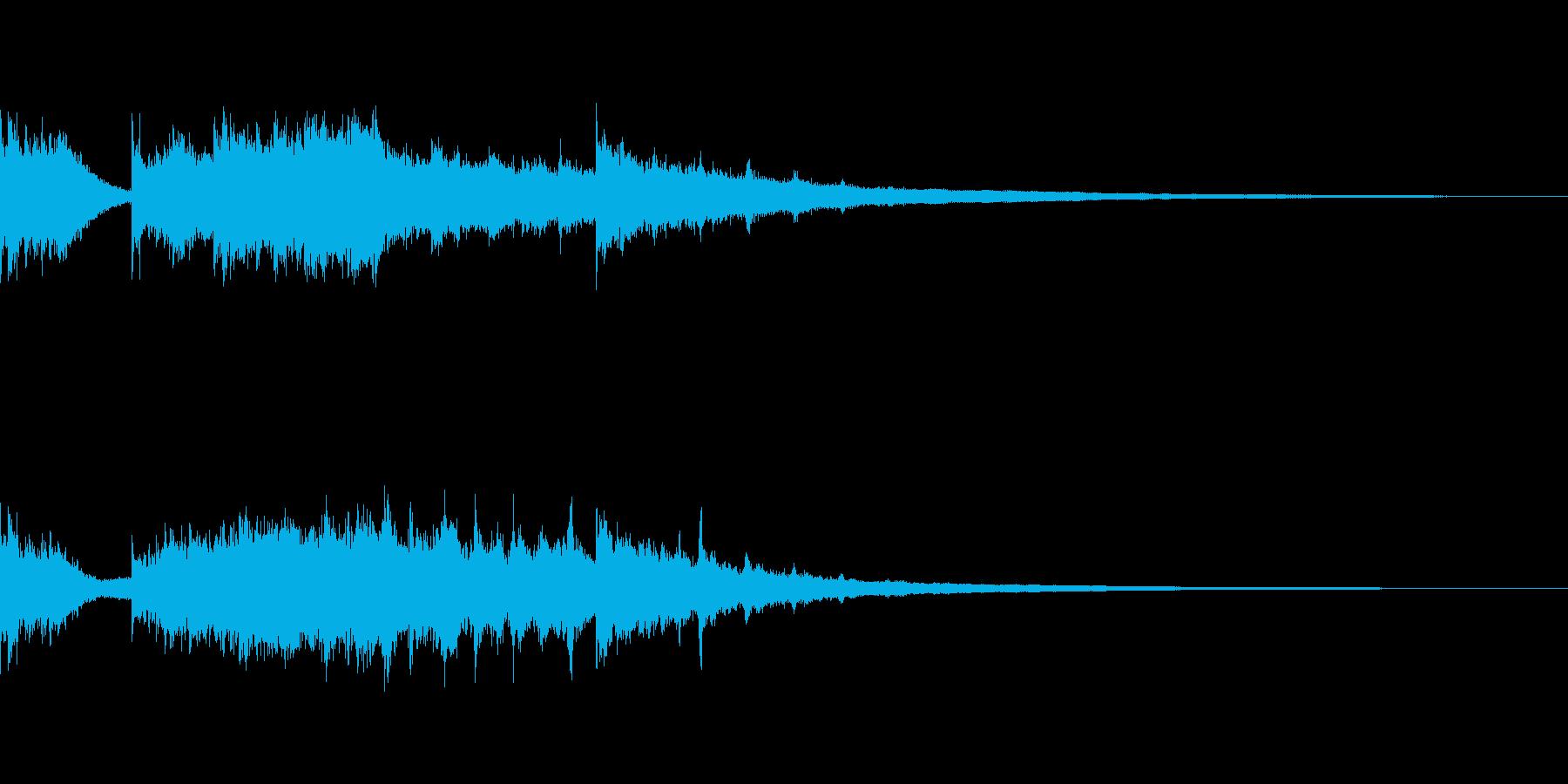 ボーナスリスピンワイルドカードスピン獲得の再生済みの波形