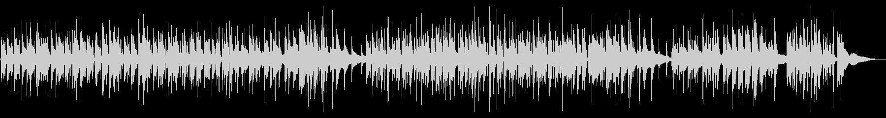 ベースでジャズほのぼのの未再生の波形