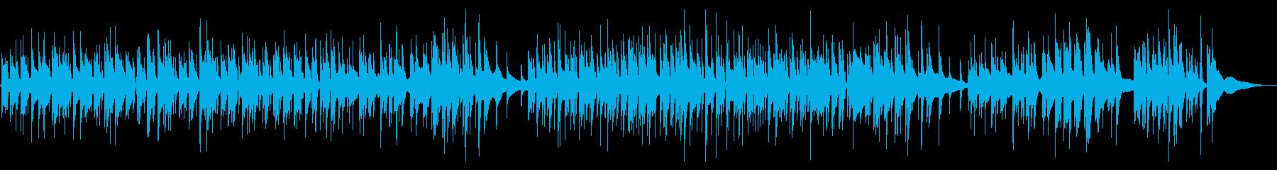 ベースでジャズほのぼのの再生済みの波形