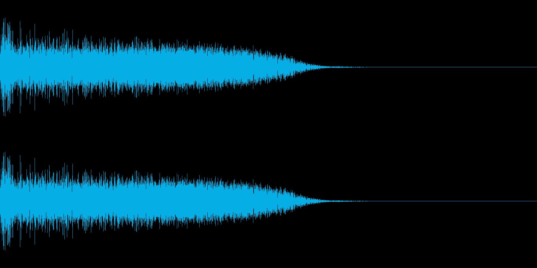 ザシュッ(短剣/斬撃/通常攻撃)の再生済みの波形