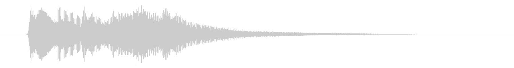 緊急アラート01-3(遠い)の未再生の波形