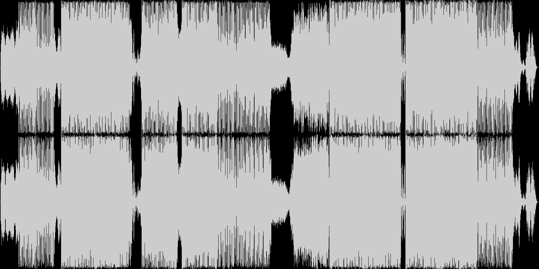ドラムンベースです。タイトルのSatu…の未再生の波形