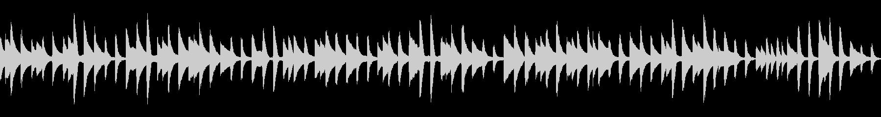 童謡「背比べ」ループ仕様ピアノソロの未再生の波形