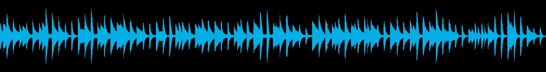 童謡「背比べ」ループ仕様ピアノソロの再生済みの波形