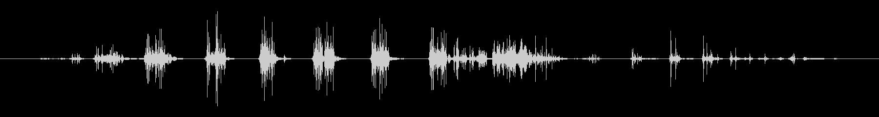 おなら ウーピークッションファース...の未再生の波形