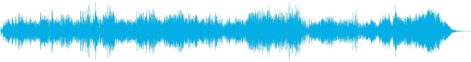 リズミカル 水 キラキラ ■ ピアノソロの再生済みの波形