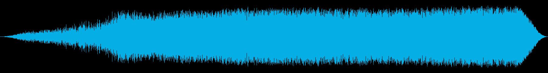 ジェット 飛行機 ボーイング737...の再生済みの波形